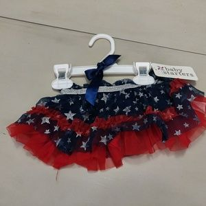 Red and Blue Star Skirt